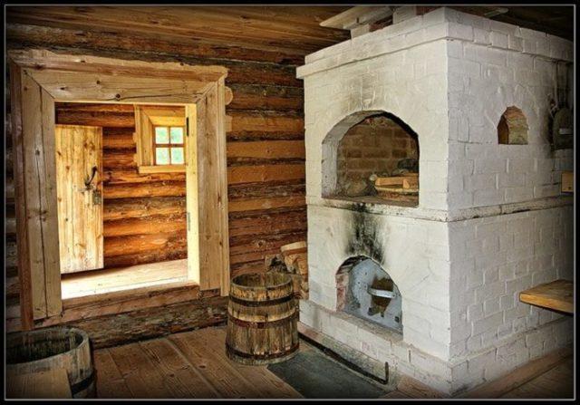 баня в старину