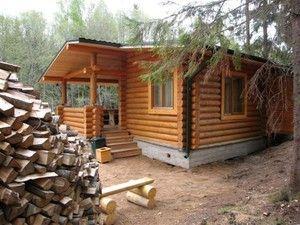 дрова и баня