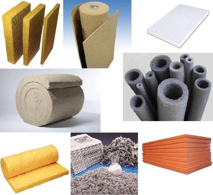 Теплоизоляционные материалы для бани и сауны.