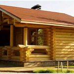 Как построить баню своими руками на даче