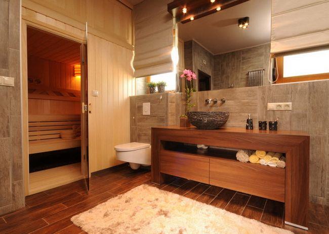 сауна, ванна, комната, ванной комнате, ванной комнаты