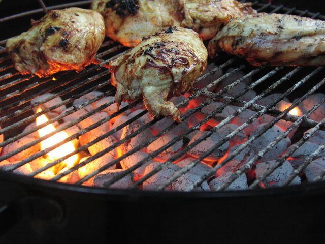 готовить курицу на гриле